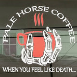 Pale Horse Coffee Auto Decal