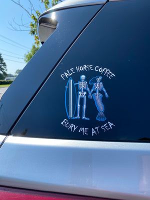 Bury Me At Sea Auto Decal