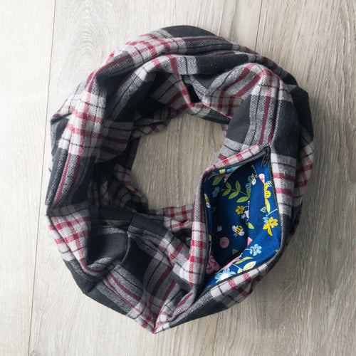Infinity Pocket Scarf | Peppercorn