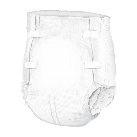 Adult Incontinent Brief Tab Closure Disposable Moderate Absorbency Super Plus