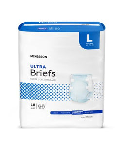 Adult Incontinence Brief Tab Closure Heavy Absorbency Disposable Ultra