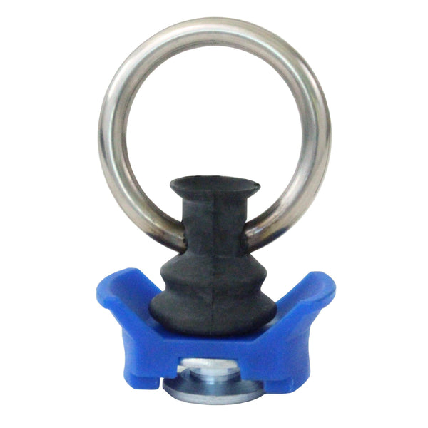 Aluminum Track Fitting with Coated Round Ring - Boxer Tools