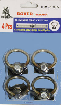 4 Pieces of Aluminum Track Fitting - Boxer Tools