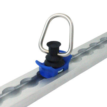 Aluminum Track Fitting with Coated D Ring