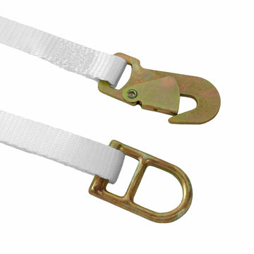 1 Inch Ratchet Tie Down with Double D ring and Snap Hook