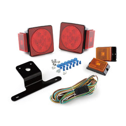 LED 4 Inch Rear Combination Trailer Light Kit
