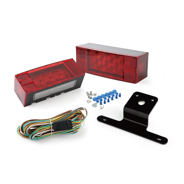 Replacement LED Low Profile Trailer Tail Light Kit