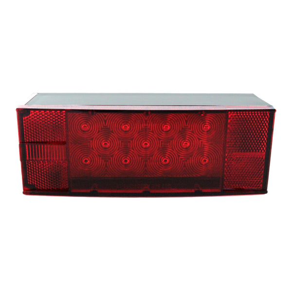Replacement LED Low Profile Trailer Tail Light, Driver Side - Boxer Tools
