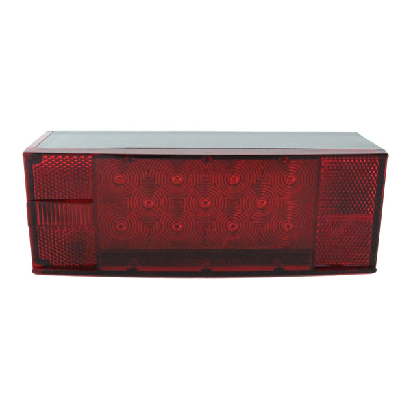 Replacement LED Low Profile Trailer Tail Light, Passenger Side - Boxer Tools