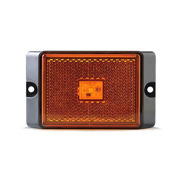 LED Rectangular Marker Light in Amber