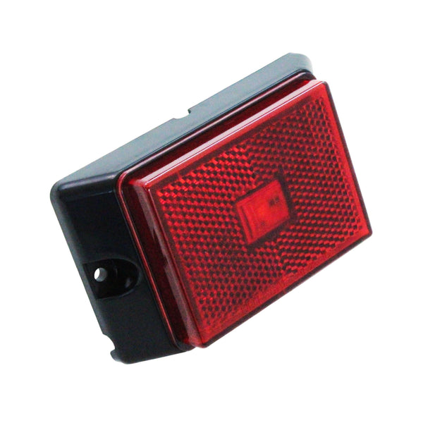 LED Rectangular Marker Light in Red