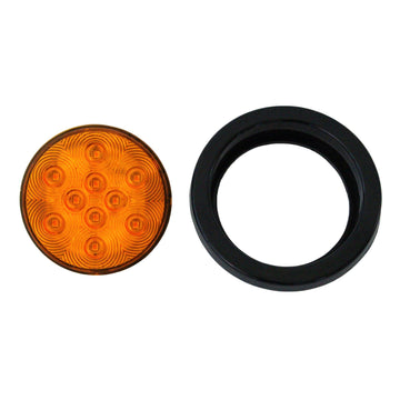 10 LED 4 Inch Turn Signal Light in Amber