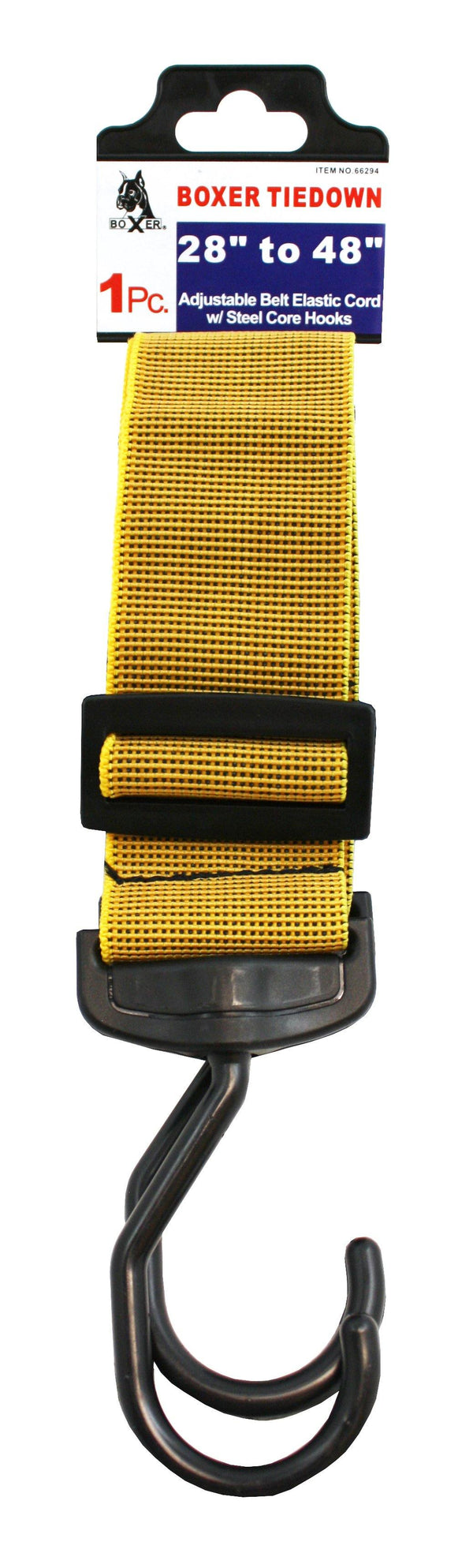 2 Inch Adjustable Belt Elastic Cord with Steel Core Hooks