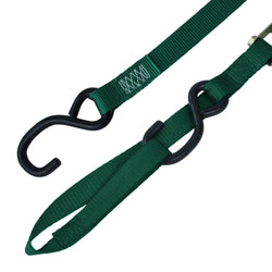 Cam Buckle Tie Down with S Hook and Loop