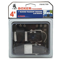 Marine Transom Tie Down with S Hooks - Boxer Tools