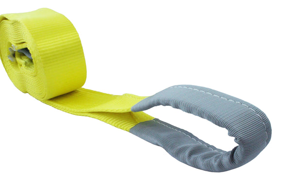 4 Inch Recovery Strap with Loop Ends - Boxer Tools