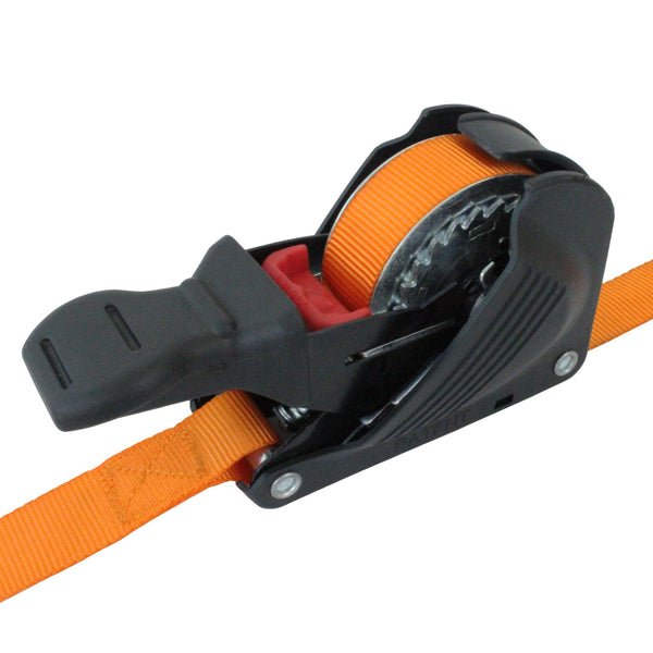 Retractable Ratchet Tie Down with S Hooks