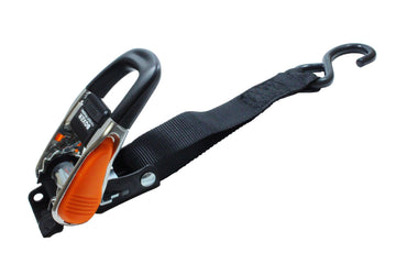 Quick Release Heavy Duty Ratchet Tie Down with S Hooks