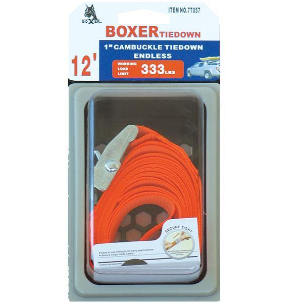 Universal Endless Cam Buckle Tie Down - Boxer Tools