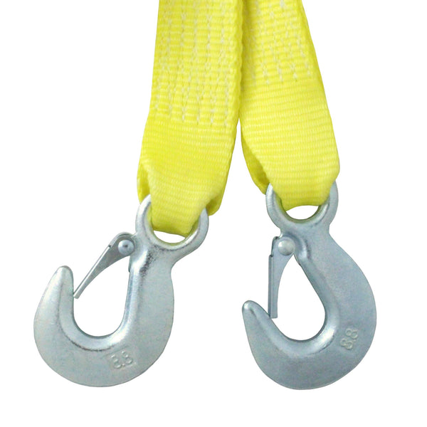 2 Inch Tow Strap with Safety Hook