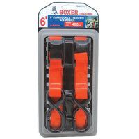 Cam Buckle Tie Down with S Hooks - Boxer Tools