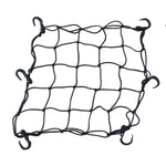 ATV Motorcycle Cargo Net with 6 Hooks