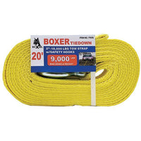 2 Inch Tow Strap with Safety Hook - Boxer Tools