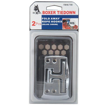Boxer 2-Piece Fold Away Rope Hooks Set
