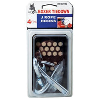 4-Piece J Rope Hook