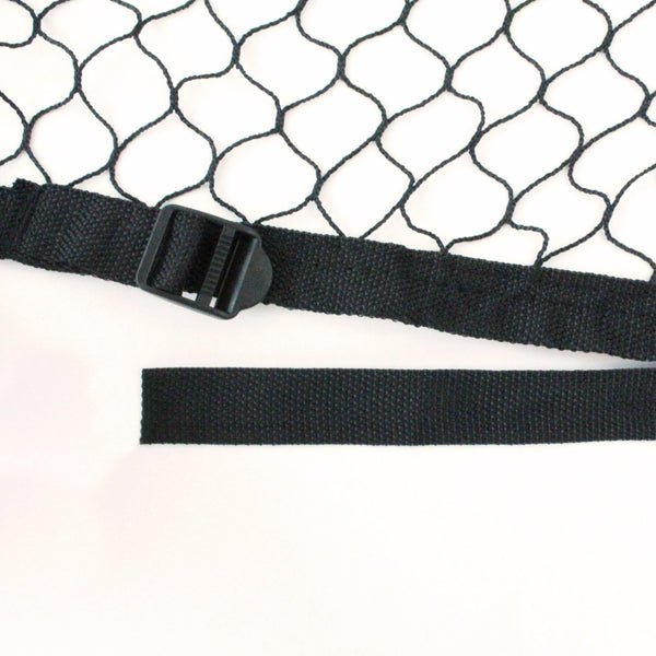 Full Size Adjustable Truck Cargo Net with 6 Adjustable Elastic Ball Cords - Boxer Tools