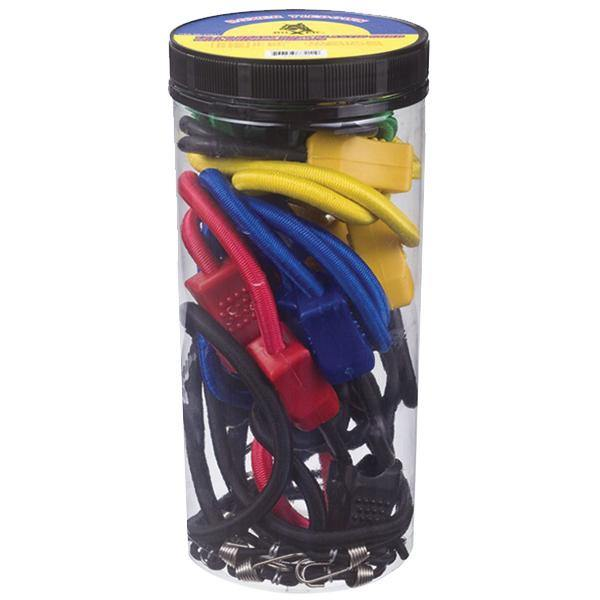 Heavy Duty Elastic Cords with Coated Steel Hooks
