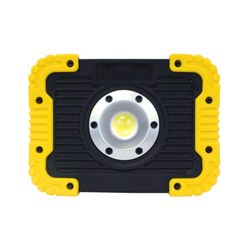 6W Rechargeable LED Work Light in Yellow