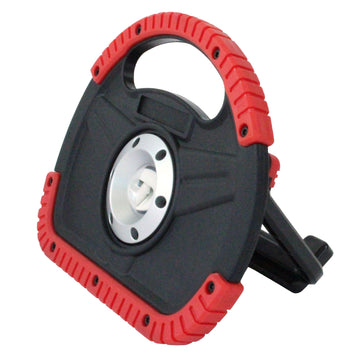 6W Rechargeable LED Work Light in Red