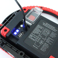 6W Rechargeable LED Work Light in Red - Boxer Tools