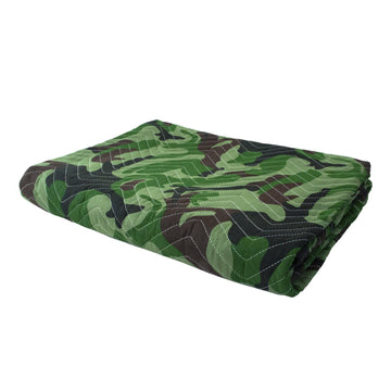 Camouflage Protection Pad - 54 Inch by 72 Inch