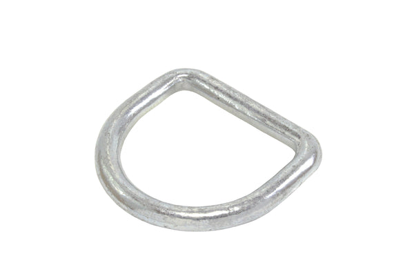 2 Inch Forged Nickel Plated D Ring