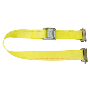 12 Feet Logistic Strap with Cam Buckle and E Fittings
