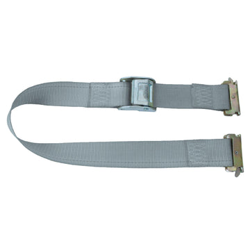 16 Feet Logistic Strap with Cam Buckle and E Fittings