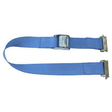 20 Feet Logistic Strap with Cam Buckle and E Fittings