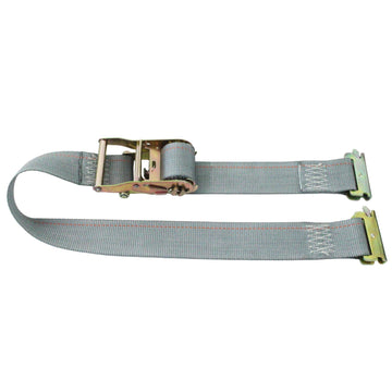 16 Feet Logistic Strap with Ratchet and E Fittings