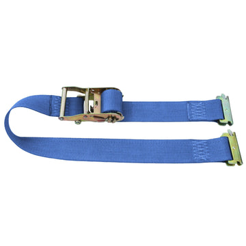 20 Feet Logistic Strap with Ratchet and E Fittings