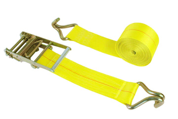 3 Inch Webbing Ratchet Assembly with Twin J Hooks
