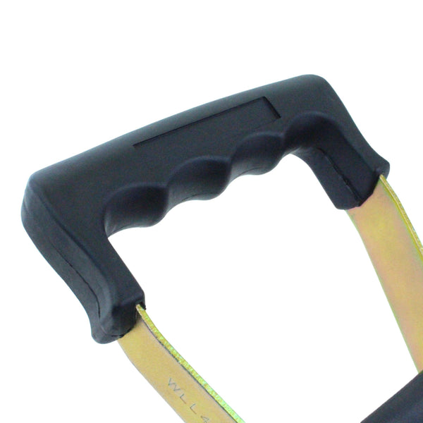 2 Inch 10,000 Pounds Long Wide Rubber Handle Ratchet Buckle - Boxer Tools