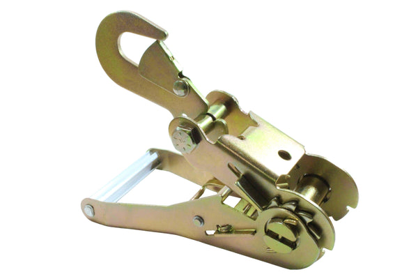 2 Inch 6,000 Pounds Ratchet Buckle with Snap Hook