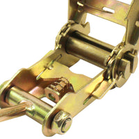 2 Inch 3,000 Pounds Ratchet Buckle with Single J Hook - Boxer Tools