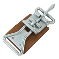 1-3/4 Inch Center Latch with Link and Leather Pad - Boxer Tools