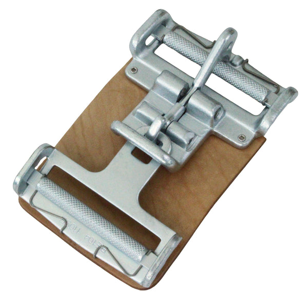 3 Inch Center Latch with Roller, Link, Spring, and Leather Pad - Boxer Tools