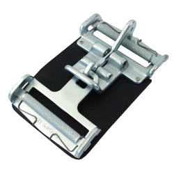 3 Inch Center Latch with Roller, Link, Spring, and Leather Pad