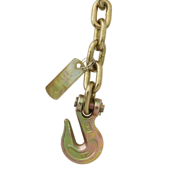 Grade 70 Cargo Chain with Clevis Grab Hooks - Boxer Tools