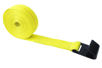 2 Inch Winch Strap with Flat Hook